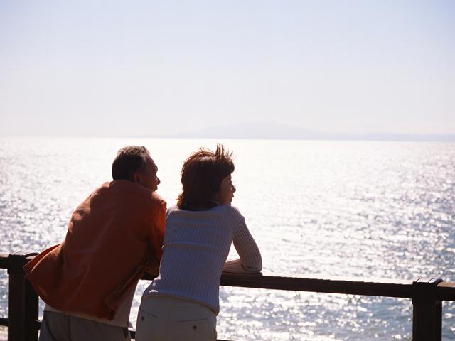 熟年夫婦も相思相愛が多い