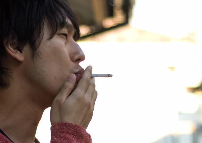 対象者が煽り運転・タバコのポイ捨て